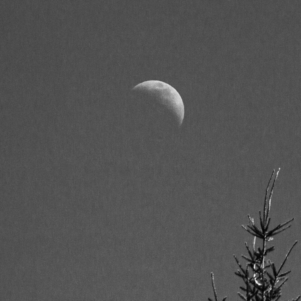 Not Quite a Half-Moon